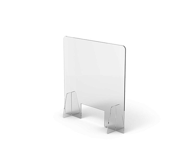 Parasputi Lexan Barriera Plexiglass Parafiato per Ristoranti Bar Tavoli Separatore Pannelli Plexiglass da Banco Plexiglass Trasparente Barriera Protettiva Certificato e Prodotto in Italia 140x70